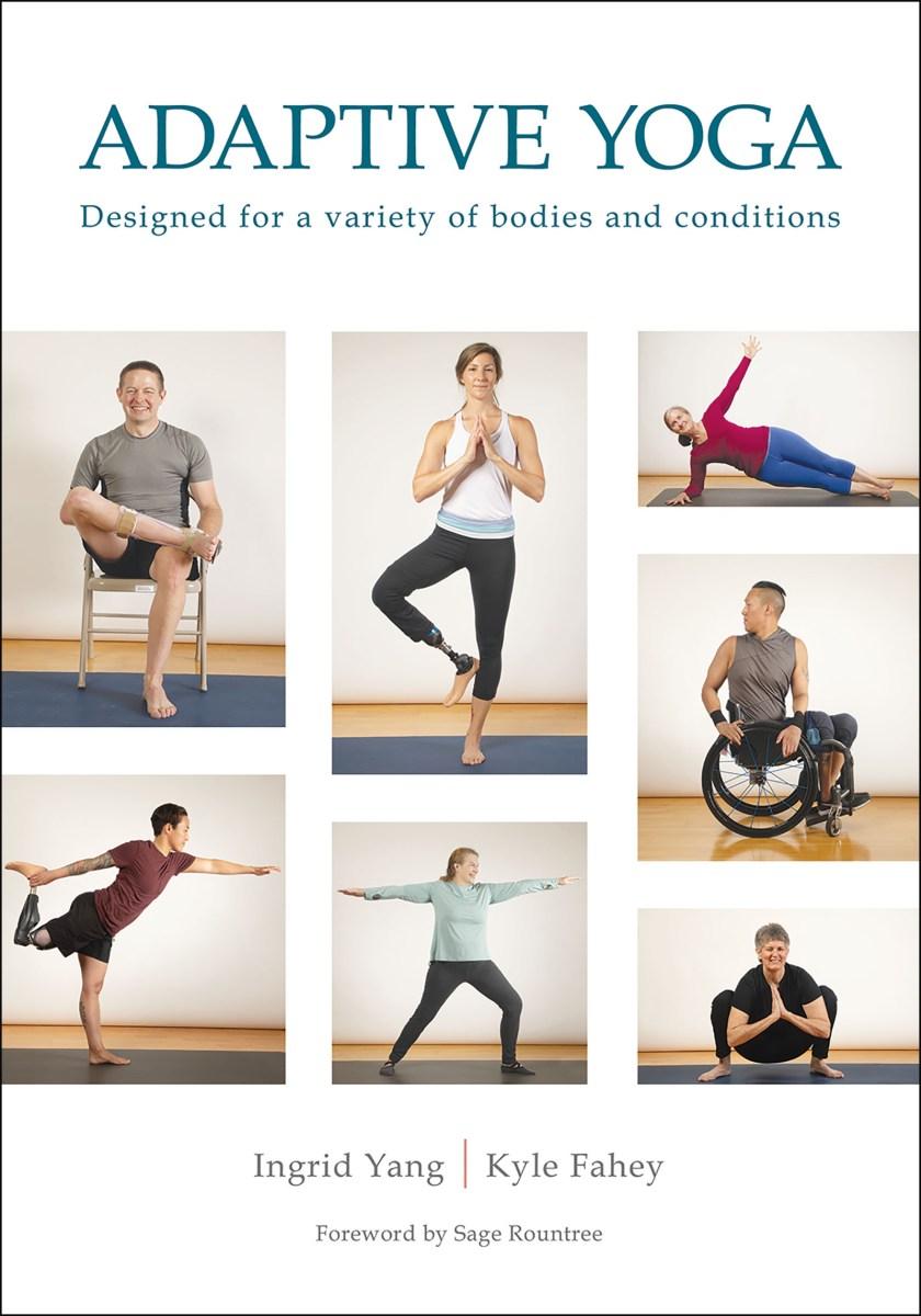 Adaptive Yoga book cover