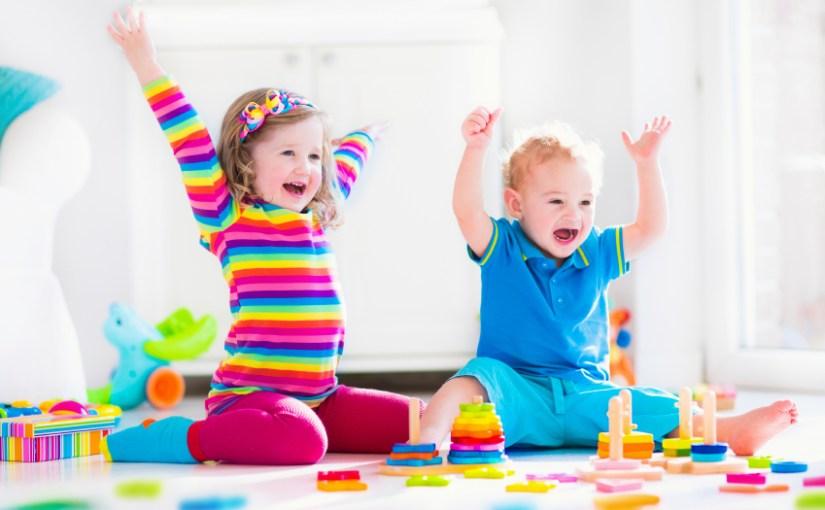 おもちゃで楽しく遊ぶ教室でいっぱい遊びました