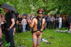 London!s Naked Cycle Ride 2016