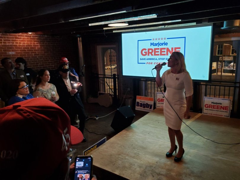 Taylor Greene's election to the Congress is a result of the new kind of Trumpism.