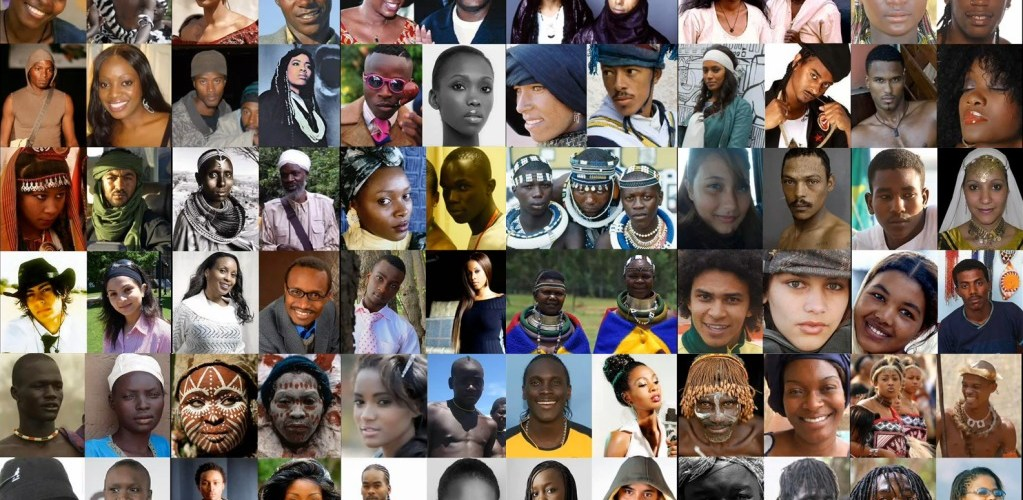 different faces of Africa