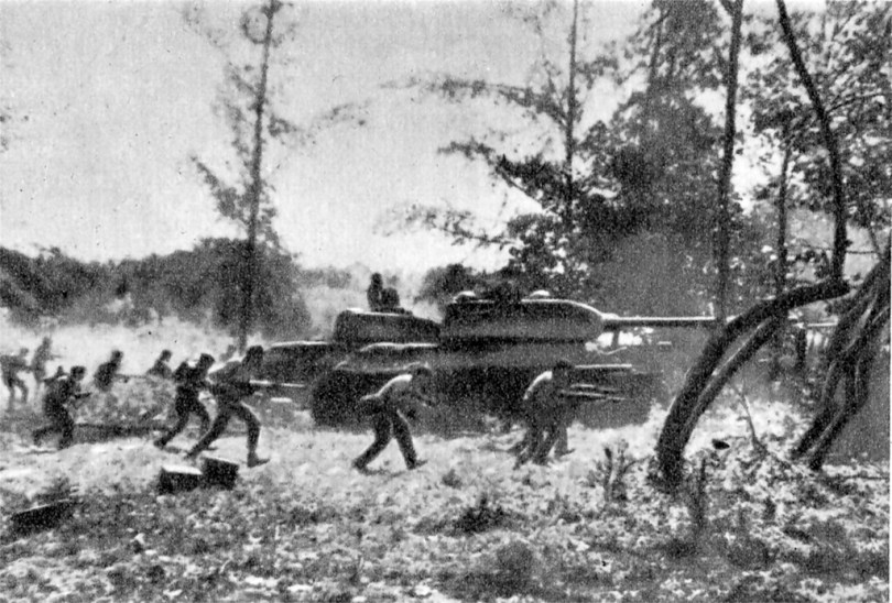 cuban troops counter attack