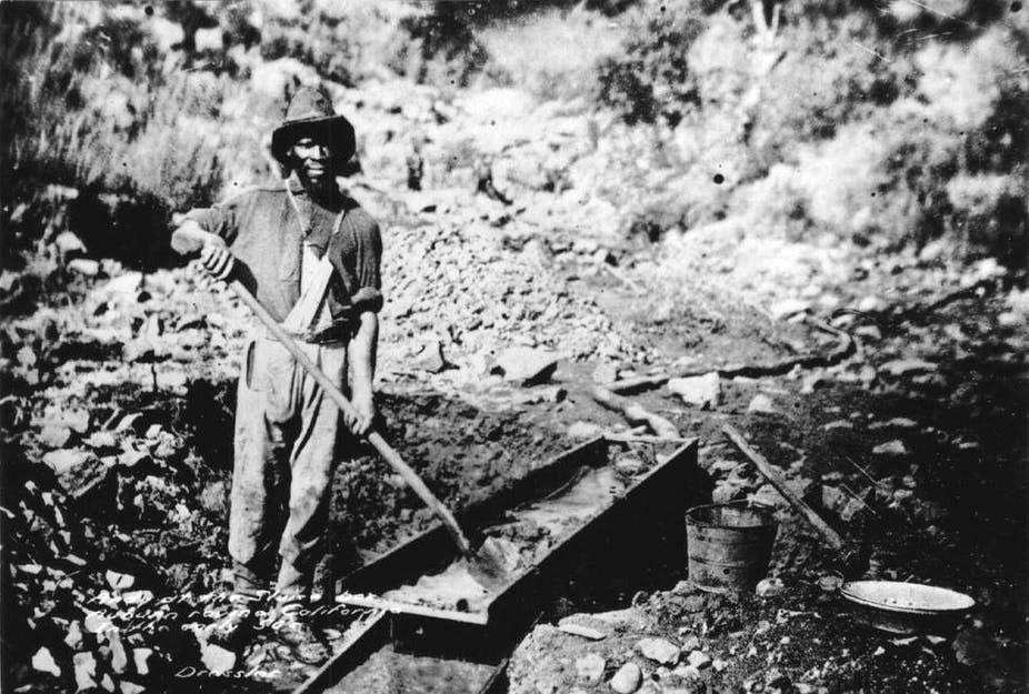 african american slave during california's gold rush