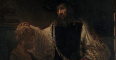 Rembrandt Aristoteles ja Homeroksen patsas
