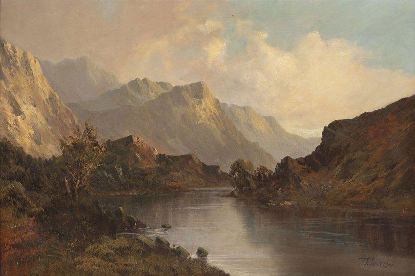 Skotlaintilainen vuoristomaisema