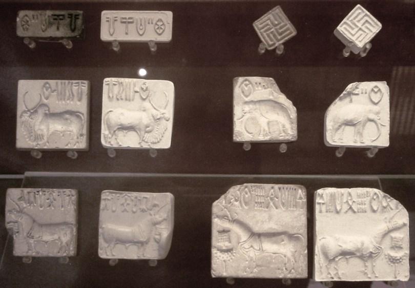 Induskulttuurin sinettejä