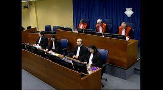 Photo of the International Criminal Tribunal for the former Yugoslavia