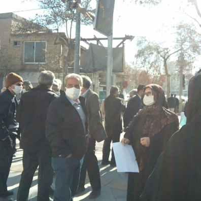 بازنشستگان تامین اجتماعی مشهد