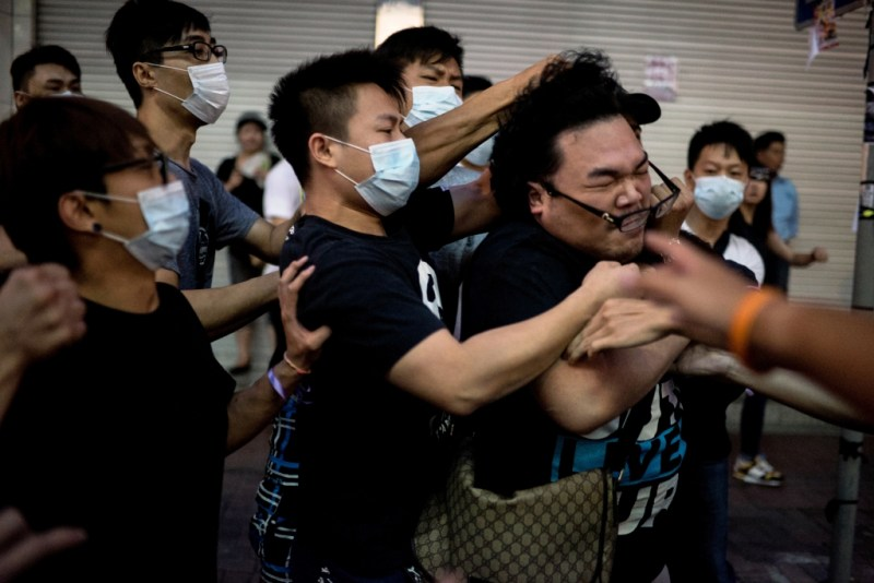 Occupy Central in Hong Kong. Alex Ogle / Agence France-Presse