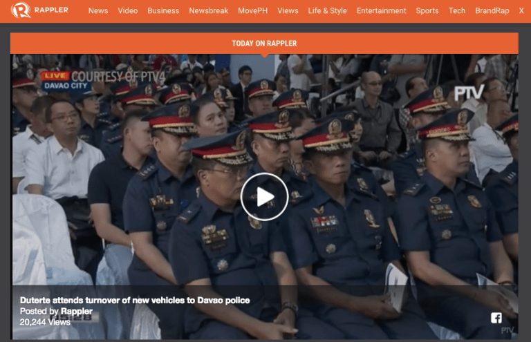 Rappler, Human Rights Press Award winner, has licence revoked in Philippines media crackdown