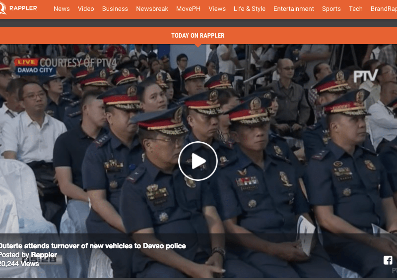 The order for Rappler to be shut down is part of a broader trend by President Rodrigo Duterte to silence his critics.