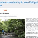 Confiscation crusaders try to save Philippine paradise, by Karl Malakunas of AFP