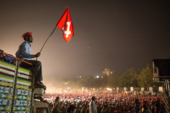 Kisan (Farmers) Long March: A New Beginning, by Shrirang Swarge of PARI - People's Archive of Rural India.