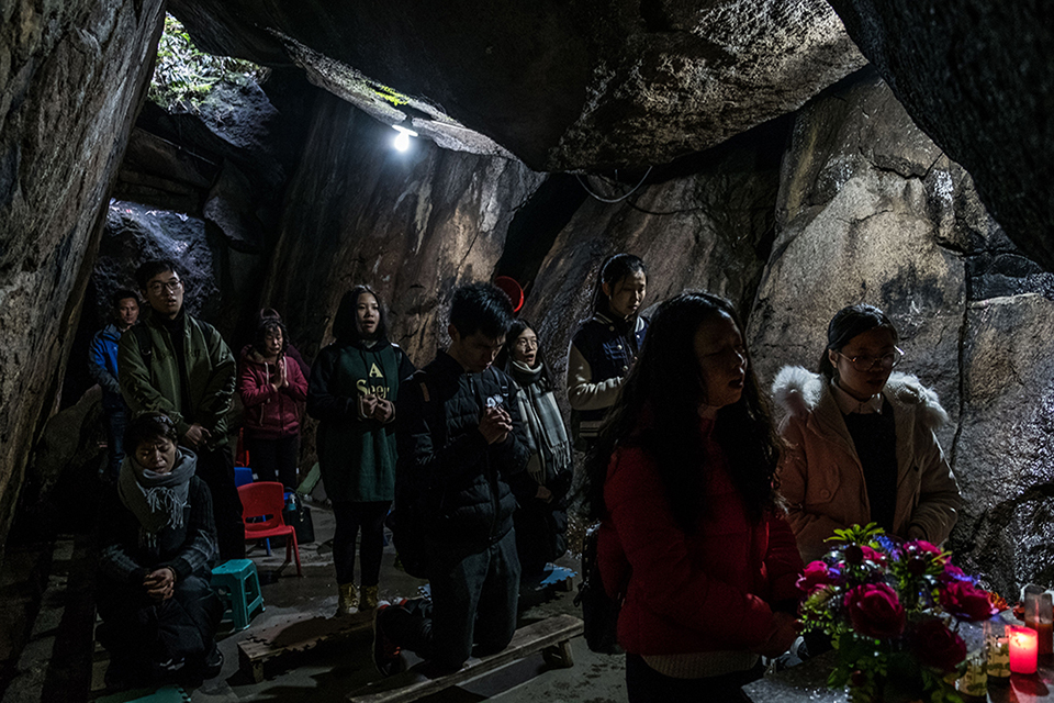 Underground Church in China