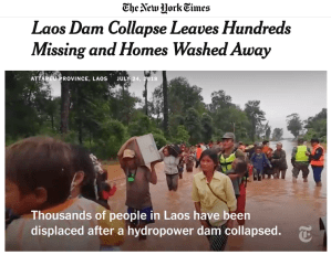 Series: Laos Dam Collapse by The New York Times