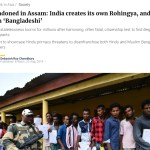 Abandoned in Assam: India Creates Its Own Rohingya, and Calls Them 'Bangladeshi'
