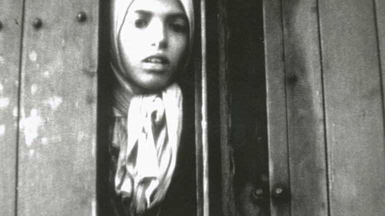 Foto van Settela Steinbach, symbool van Jodenvervolging geworden, maar was eigenlijk een sinti-meisje. Onderwerpen: discriminatie, discriminatie betekenis, discriminatie in Nederland, discriminatie voorbeelden, sinti taal. Jodenvervolging nederland, jodenvervolging Tweede Wereldoorlog,