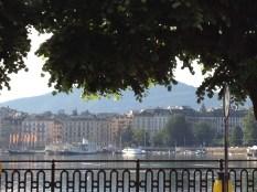 May: Lac Leman, Geneva, Switzerland