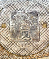 Stone Town manhole cover