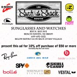 2012 Surf Shack South Sunglasses/Watches ad