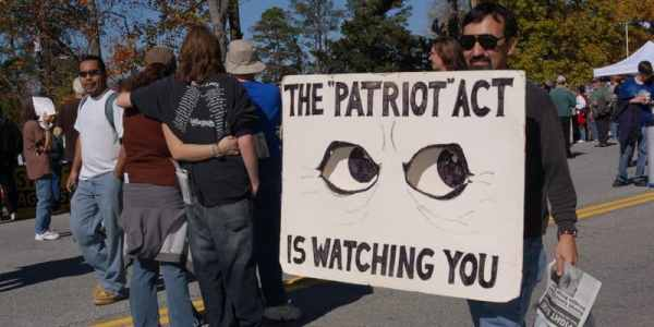The Patriot Act Is Watching You