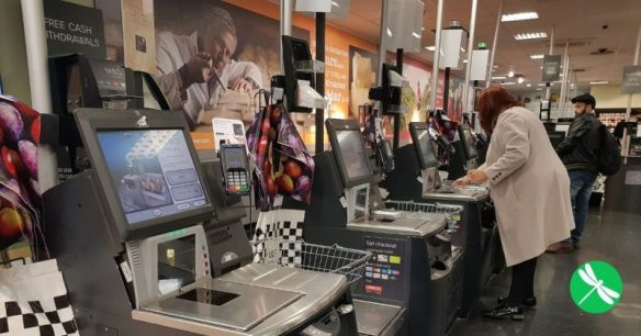 Canadians Proudly Resist Self Checkout