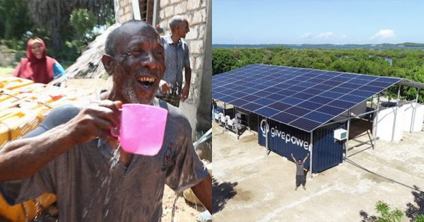Kenya Installs The First Solar Plant That Transforms Ocean Water Into Drinking Water