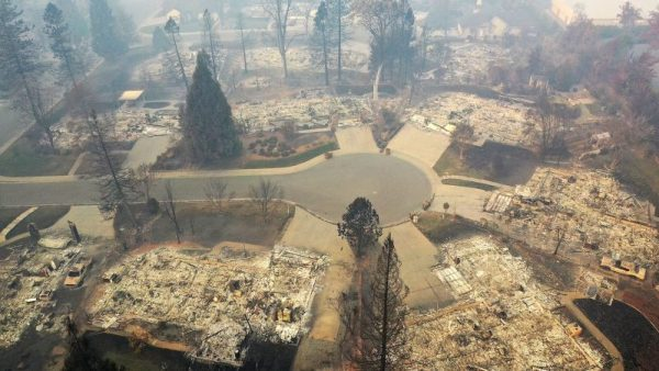 Paradise, California Destroyed By Fire