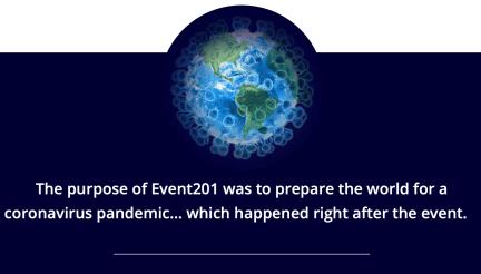 Event 201 coronavirus