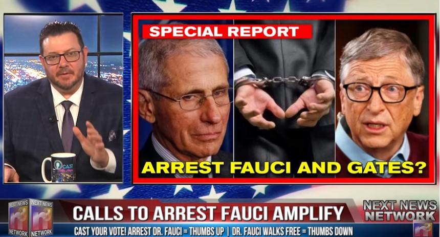 arrest fauci and gates