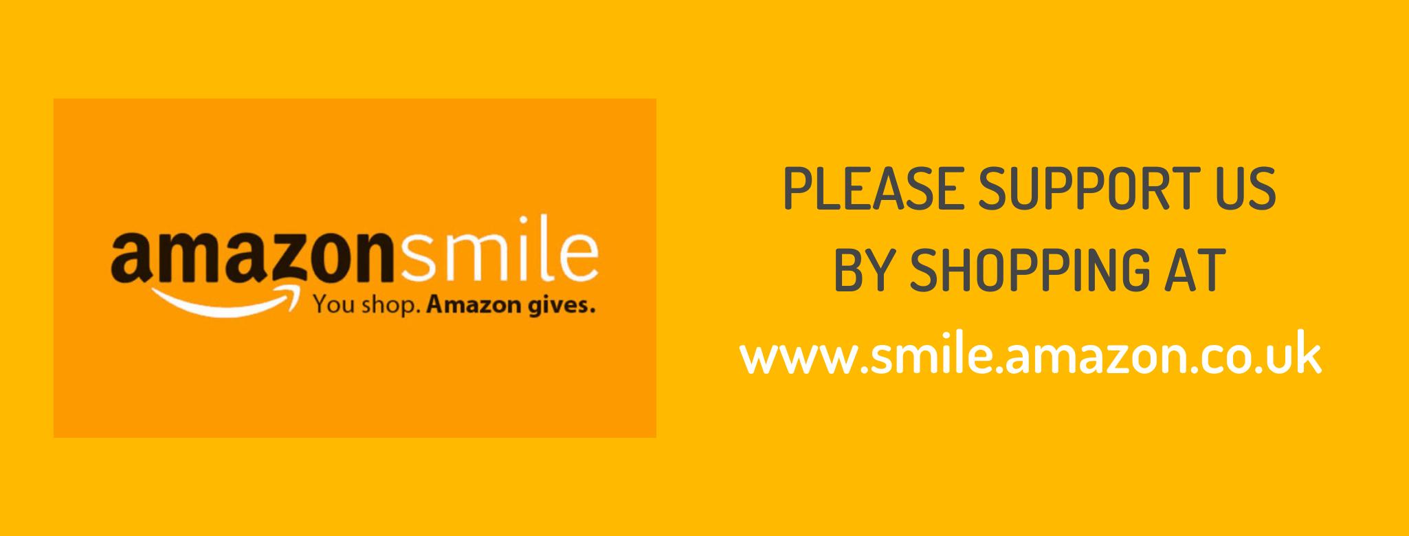 Amazon Smile banner image