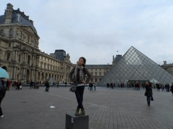 Ingkar in Paris (from personal archive)