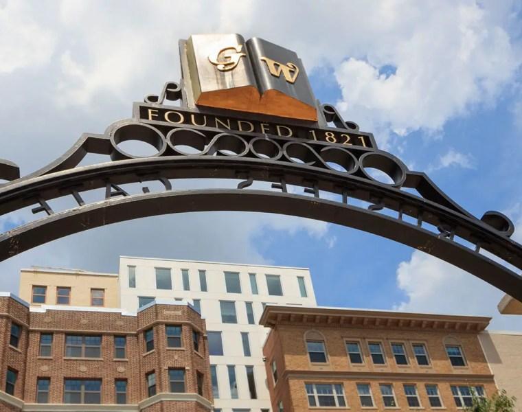 George Washington University Entrance