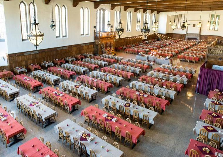 University of Notre Dame Dining Halls