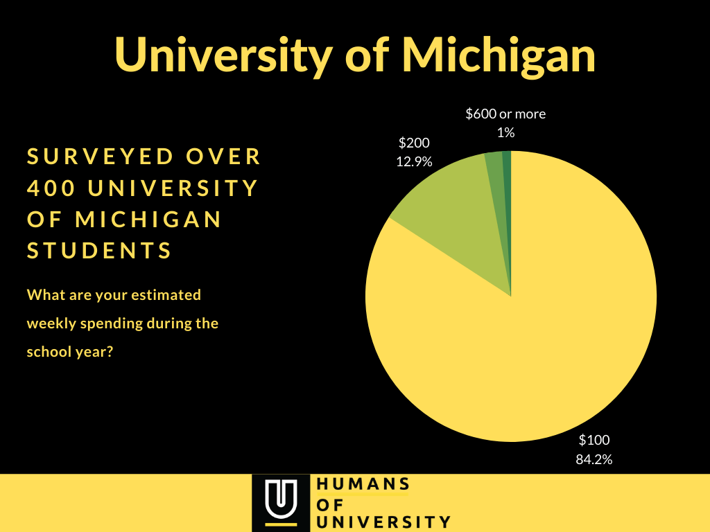 University of Michigan - weekly spending and budget survey