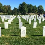 Outside at Arlington National Cemetery