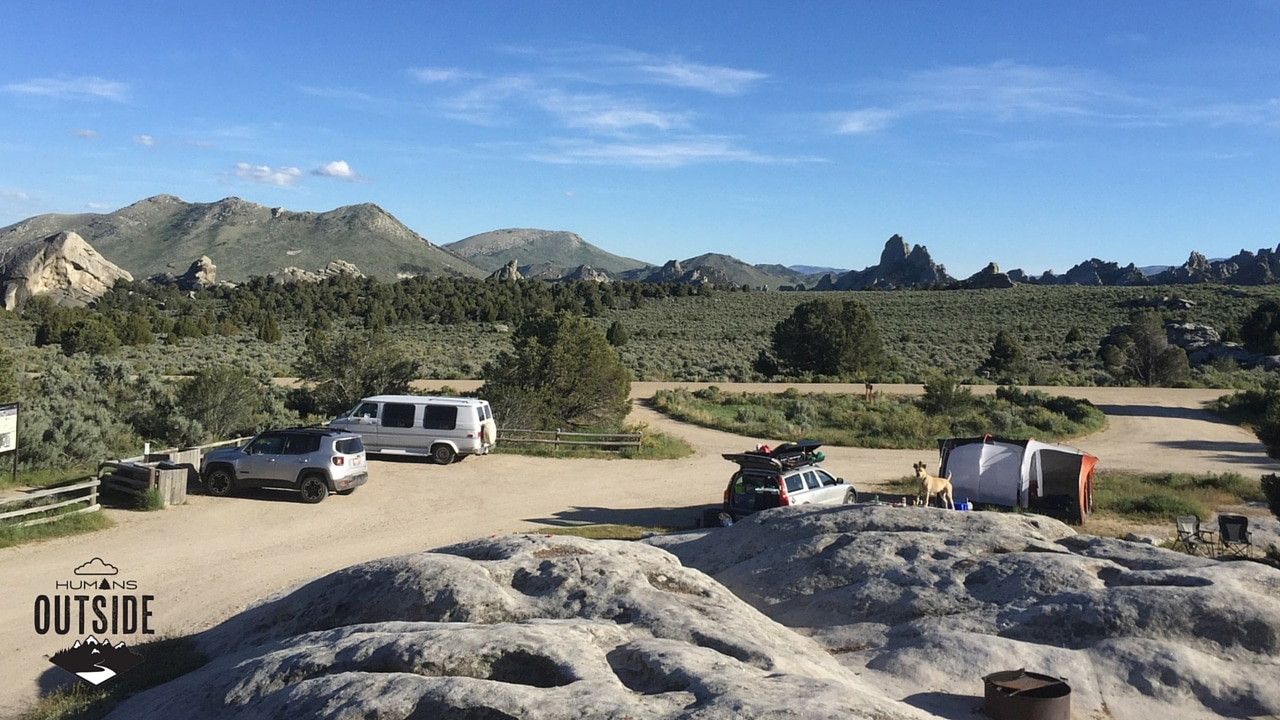 City of Rocks campsite