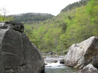North Chickamauga Creek at Pocket Wilderness
