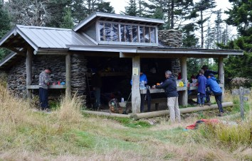 18 LeConte shelter