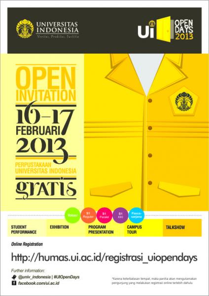 UI OPEN DAYS 2013