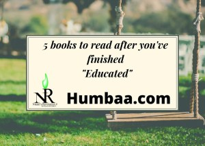 """5 books to read after you've finished """"Educated"""""""