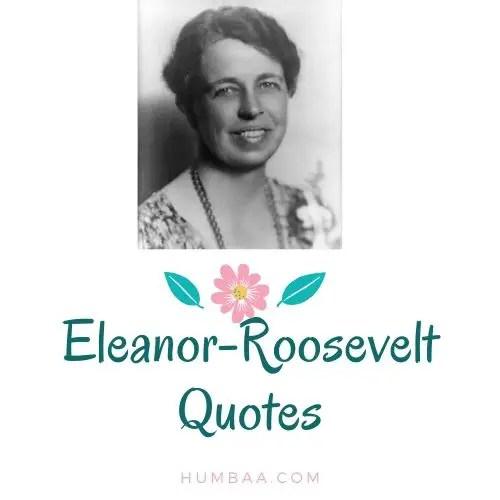 Eleanor-Roosevelt Quotes