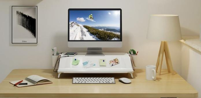 Flexispot  Monitor Stand Workstation- Monitor stands which protect.....from gems img 2