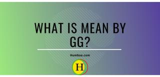 What is mean by GG