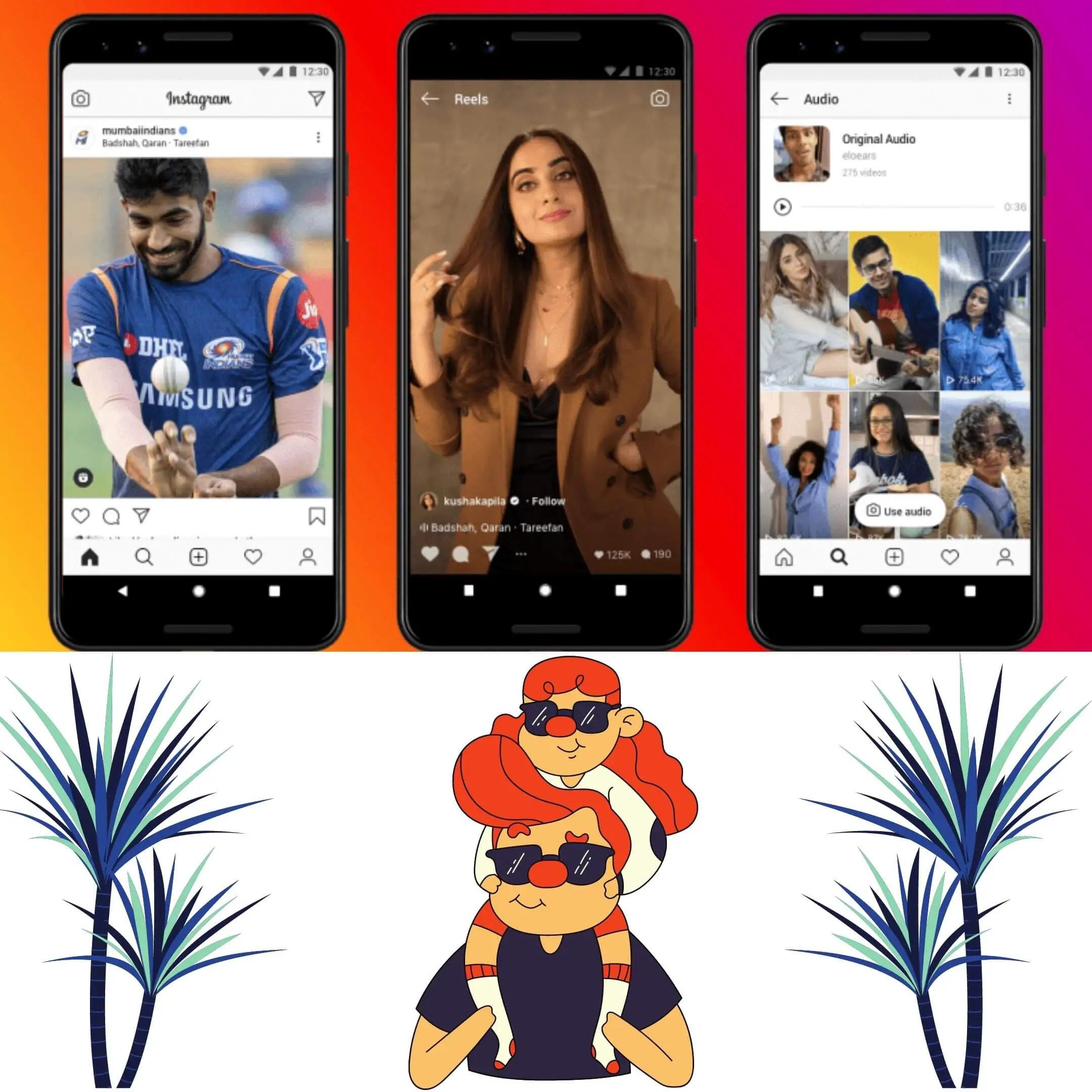 Instagram will launch Reels to the U.S in August. Reels vs Tiktok