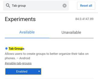 How to group your tabs on google chrome?
