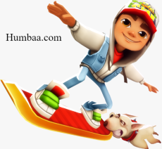 Subway surfer on Humbaa.com
