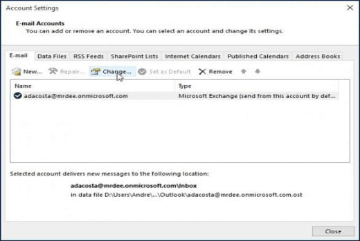 Another Mailbox in Outlook img