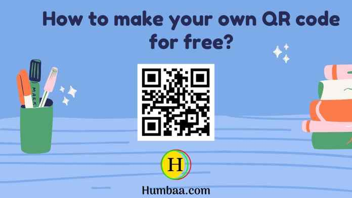 how to make your own qr code for free