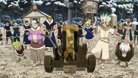 Steam Engine Made By Senku.